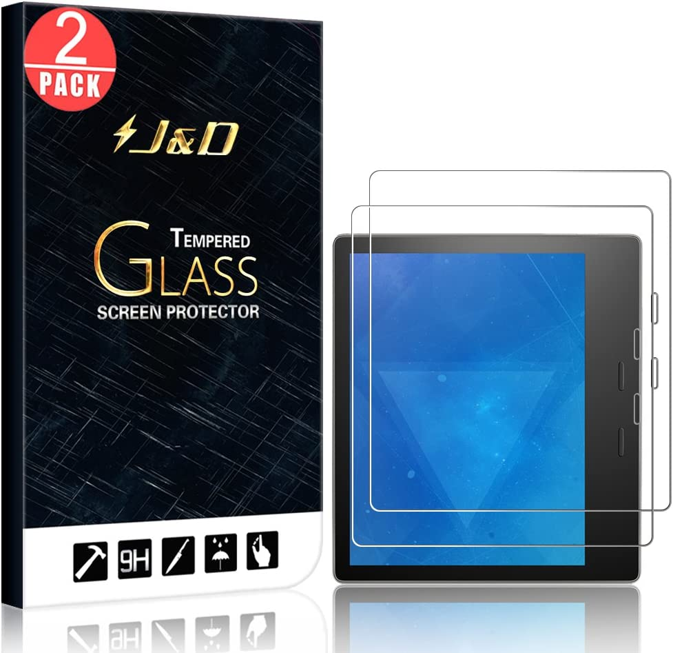 SuperShieldz Clear Screen Protector Saver for Amazon Kindle Oasis 2017 3-Pack