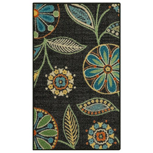 Maples Rugs Kitchen Rug - Reggie Artwork Collection 2 x 3 Non Skid Small Accent Throw Rugs [Made in USA] for Entryway and Bedroom, 1