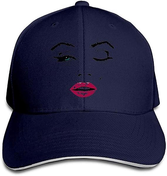 shtseresj Marilyn Monroe Baseball Hats Starter Sandwich Cap Hat ...