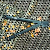 Fiskars Podadera de dos manos SingleStep (S) L28, Longitud: 50 cm ...