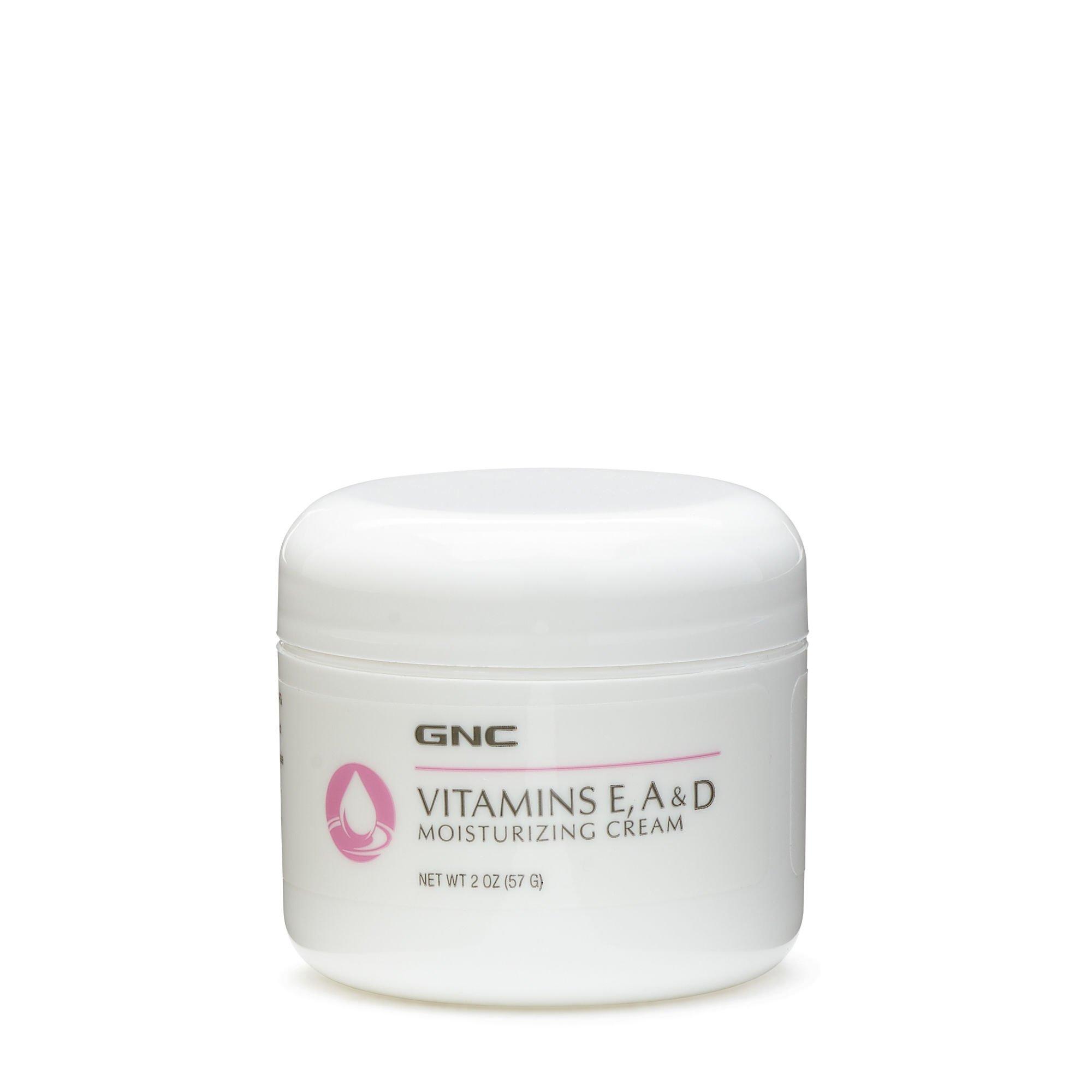 GNC Vitamins E A D Moisturizing Cream