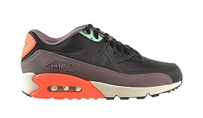 online store 7631d 45ac2 Nike Air Max 90 Essential Mens Shoes BlackBlack-Hyper Crimson 537384-036