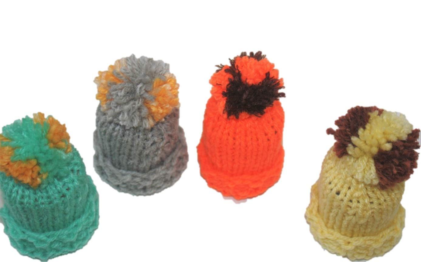 Table Decoration–4Egg Cosies–Hats Colour–F # 2 dekofine