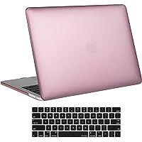 """ProCase Funda para MacBook Pro 13 A1706/A1708 (2017/2016), Carcasa Dura Ultra Delgada Cáscara de Tapa para Macbook Pro 13"""" con/sin Touch Bar Touch ID -Oro Rosa"""