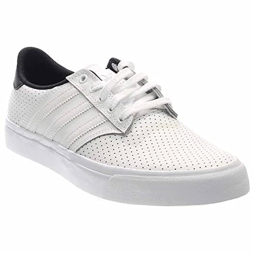adidas Skateboarding Men's Seeley Premiere Classified White/Black/Gum4 8  D(M)