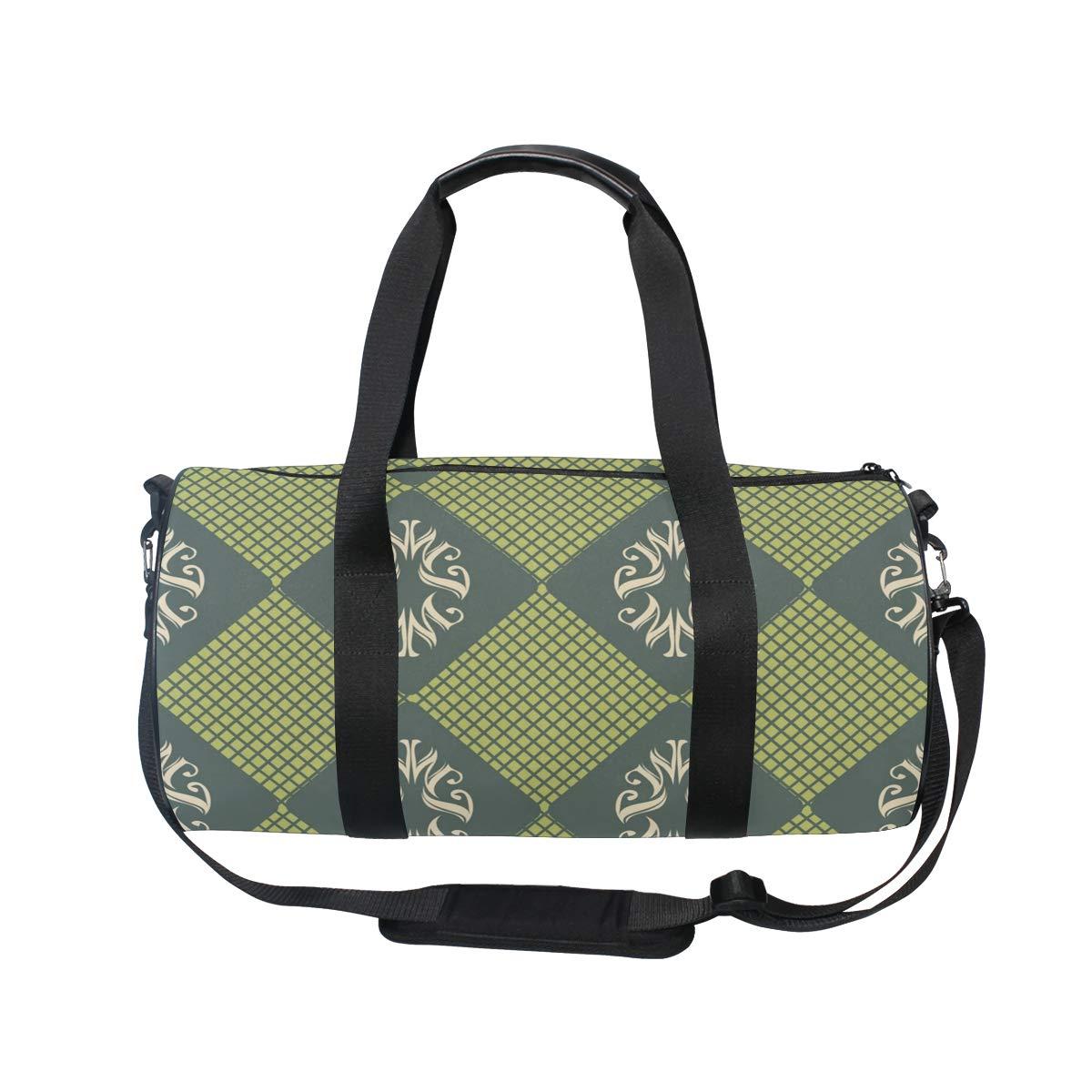 Pink Flower Ceramic PictureWaterproof Non-Slip Wearable Crossbody Bag fitness bag Shoulder Bag