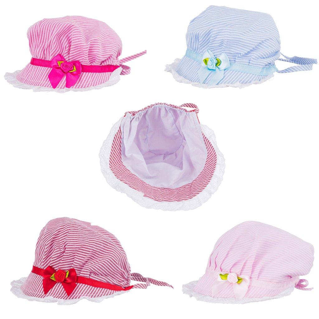 Sharplace Baumwolle Baby Unisex Sommer//Herbst//Winter Fischenhut Sonnenhut M/ütze Sonnenm/ütze Farbwahl