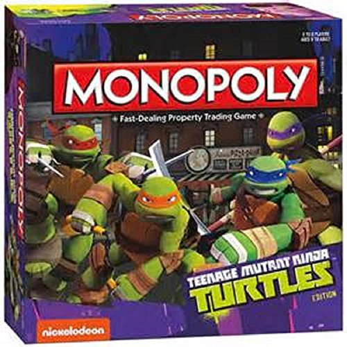 Teenage Mutant Ninja Turtles Monopoly by Nickelodeon