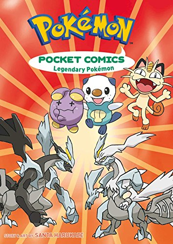 Pokémon Pocket Comics: Legendary Pokémon - Pokemon Pocket