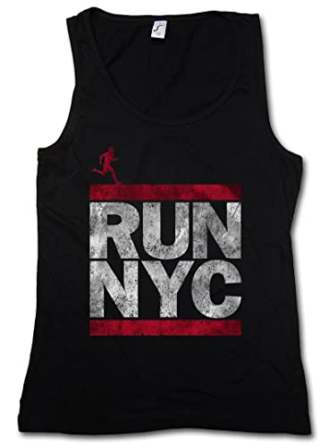 Urban Backwoods Run NYC Donna Canotta Tank Top Woman Gym Training Fitness Shirt – Taglie S – XL