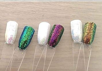 Amazoncom Nail Glitter 3 Jars Aurora Fairy Dust Magic