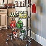 6 shelf pantry rack - 6 Shelf Pantry Rack - White - Improvements
