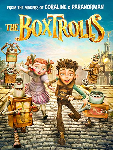DVD : The Boxtrolls