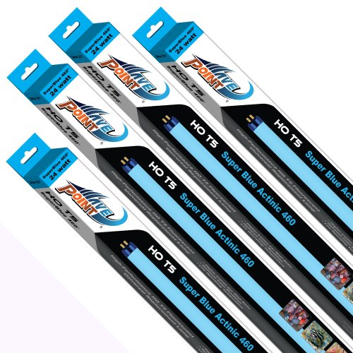 Wave Point 4-Pack Super Blue 460 HO T-5 39-Watt Universal Aquarium Lamp