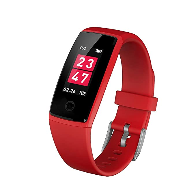 BTwear Fitness Tracker, V10 Pulsera Inteligente con ...