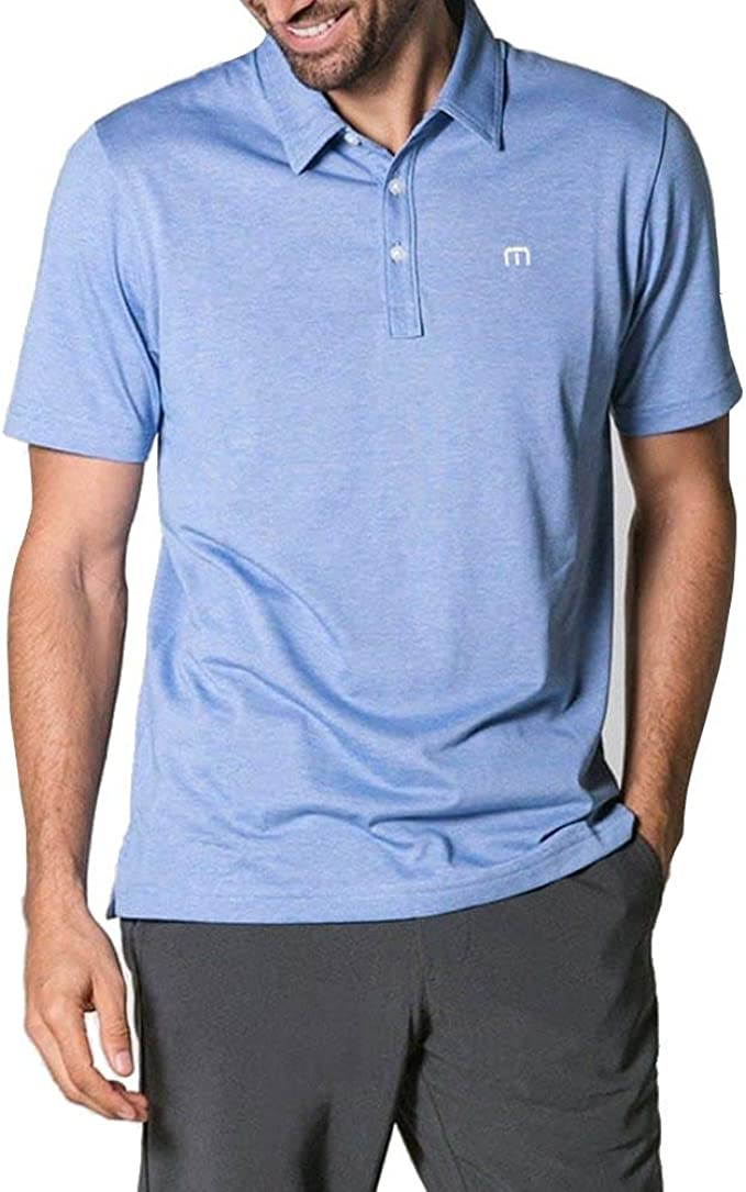 TravisMathew Men's The Zinna Polo