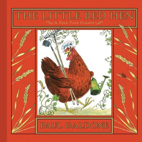 little red hen galdone - 2