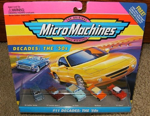 Micro Machines Decades: The 1950's #11 Collection