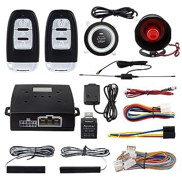 EASYGUARD EC003-NS PKE - Alarma para Coche con botón de ...