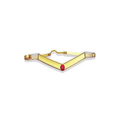 Sailor Moon Mars Tiara Costume Gold: Clothing
