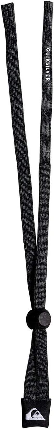 Quiksilver - Cinta para Gafas de Sol - Hombre - One Size - Negro