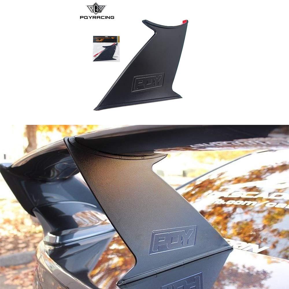 PQYRACING 1PCS Rear Spoiler Wing Stabilizer Compatible for Subaru STI 2015-18 Spoiler Wing Stiffi Support Rally PQY Logo