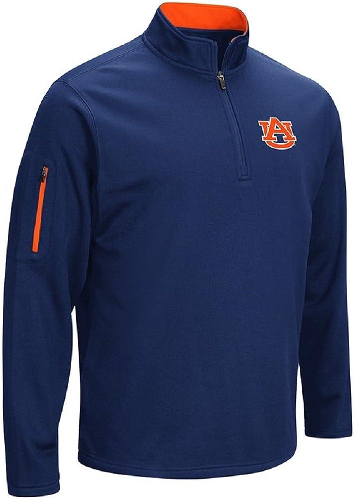 Colosseum NCAA Mens VF Poly Fleece 1//4 Zip Pullover