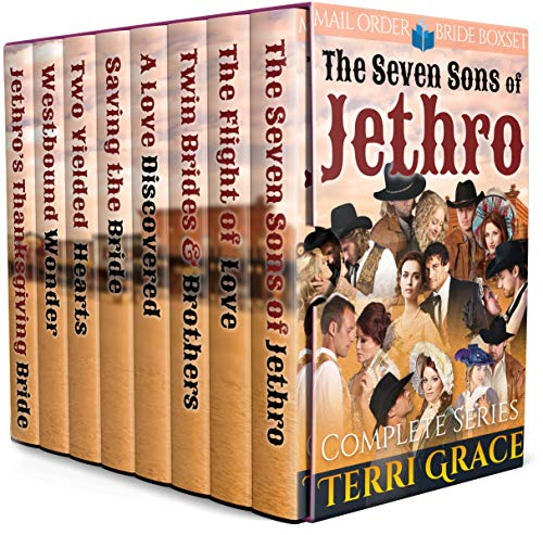 The Seven Sons of Jethro: Complete Series Mail Order Bride Boxset
