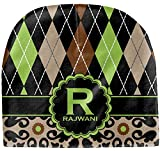 RNK Shops Argyle & Moroccan Mosaic Baby Hat (Beanie) (Personalized)