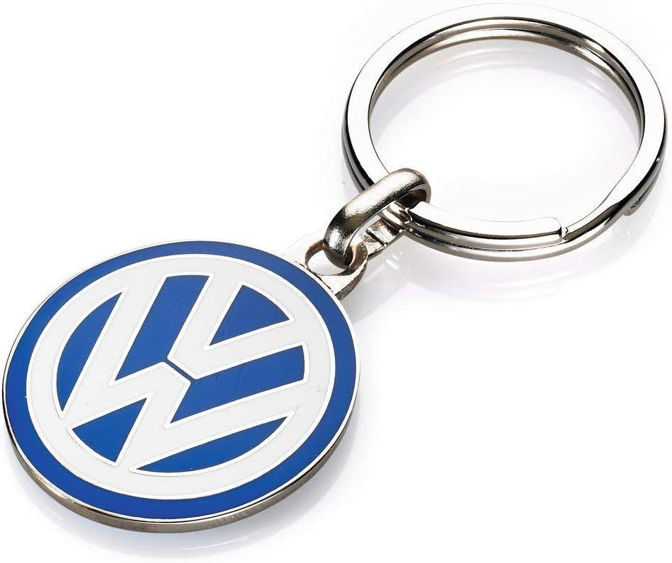 30 mm emailliert Original VW Schl/üsselanh/änger VW Logo ca