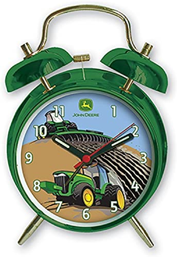 John Deere Child s Twin Bell Alarm Clock