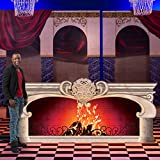 4 ft. 1 in. Belle of the Ball Fireplace Standee