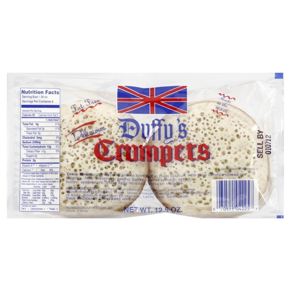 Duffys Crumpet 12.5 ounces (Pack of 3)