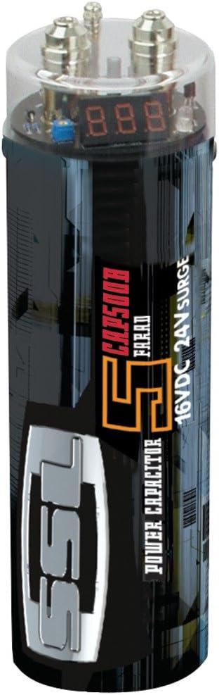 Sound Storm Laboratories 5 Farad with Digital Max Atlanta Mall 47% OFF Voltmete Capacitor