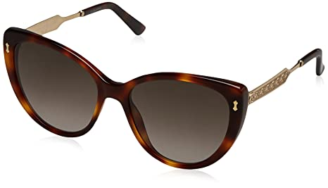 803cf67aeca Image Unavailable. Image not available for. Colour  Gucci Women s GG 3804 S Dark  Havana Gold Brown Gradient