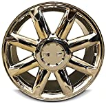 New 20 Inch GMC Sierra 1500 Denali Yukon 6 Lug Replacement Chrome Wheel Rim 20x8.5 Inch 6 Lug 78.1mm Center Bore 31mm Offset 9595662