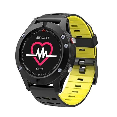 332PageAnn Reloj Inteligente GPS, F5 Deportivo Smartwatch Bluetooth para Hombre IP67 con Pulsómetro, Monitor
