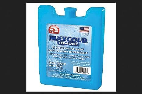 Igloo Maxcold - Bloque para congelador de Hielo (tamaño pequeño ...