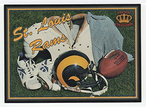Louis Rams Uniform - St.Louis Rams (Football Card) 1995 Pacific Prisms # 28 - Team Uniforms
