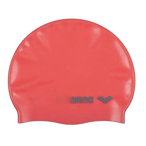 Arena Jr. Cuffia da nuoto in silicone con logo classico ae16cafc356e