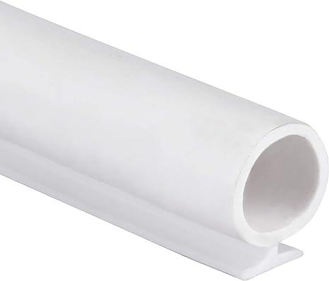 T-Slot Mount Window Weatherstrip Seal 9mm Bulb for 5mm Slot 1 Meter Long Coffee