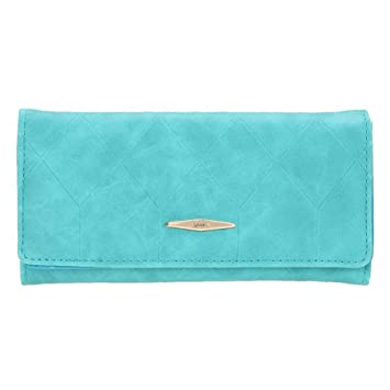 domybest nueva moda Mini cartera de piel sintética Pure Entramado ID tarjeta de Crédito Monedero verde verde: Amazon.es: Coche y moto