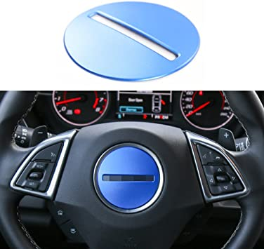 Red Aluminum Alloy Dashboard Ring Decor Switch Trim For Chevrolet Camaro 2017