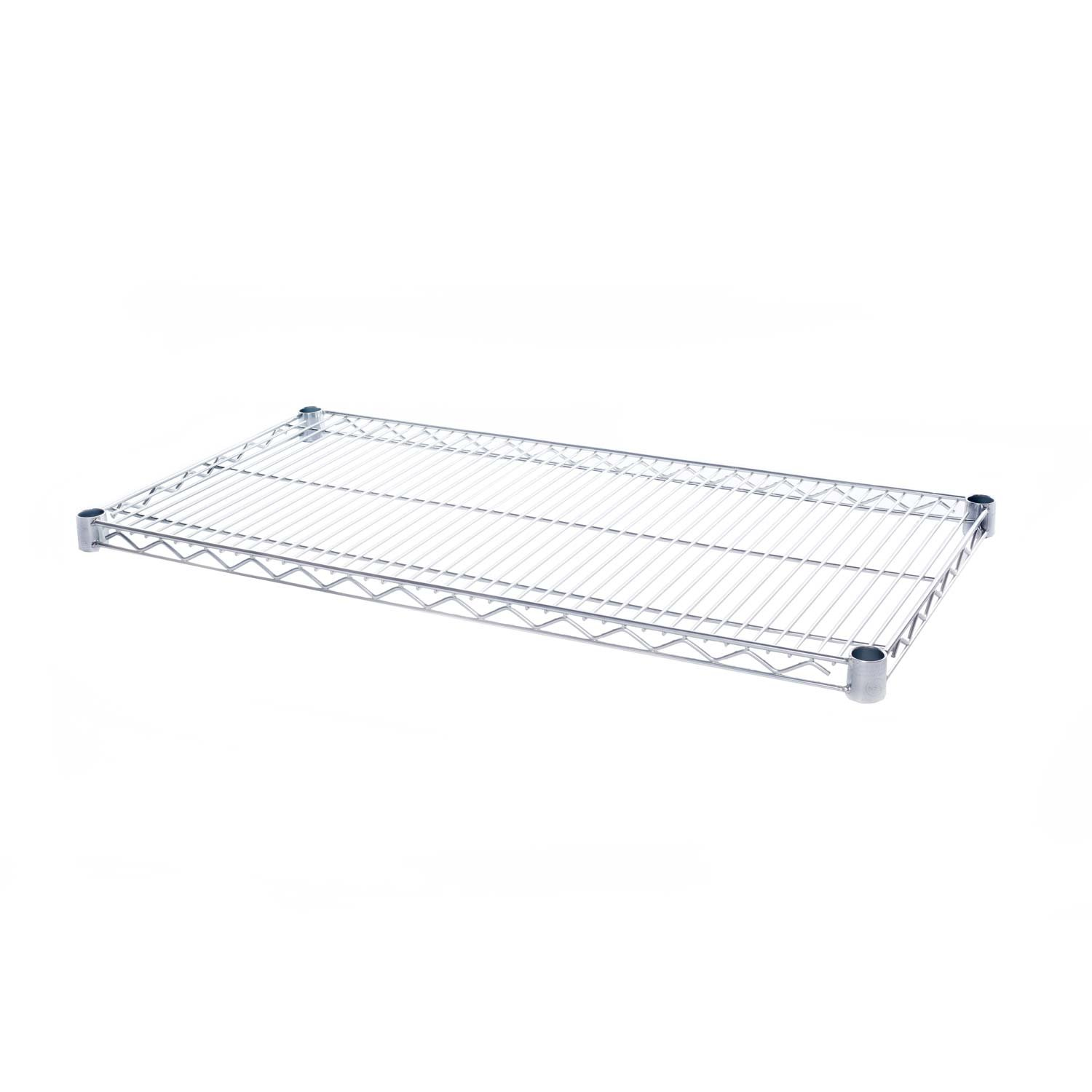 Seville Classics SHE18366 Ultra Zinc, NSF-Certified Ultra Durable Commercial-Grade Steel Wire Shelf, 36'' W x 18'' D