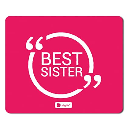indigifts rakshabandhan gifts for sister best sister quote printed