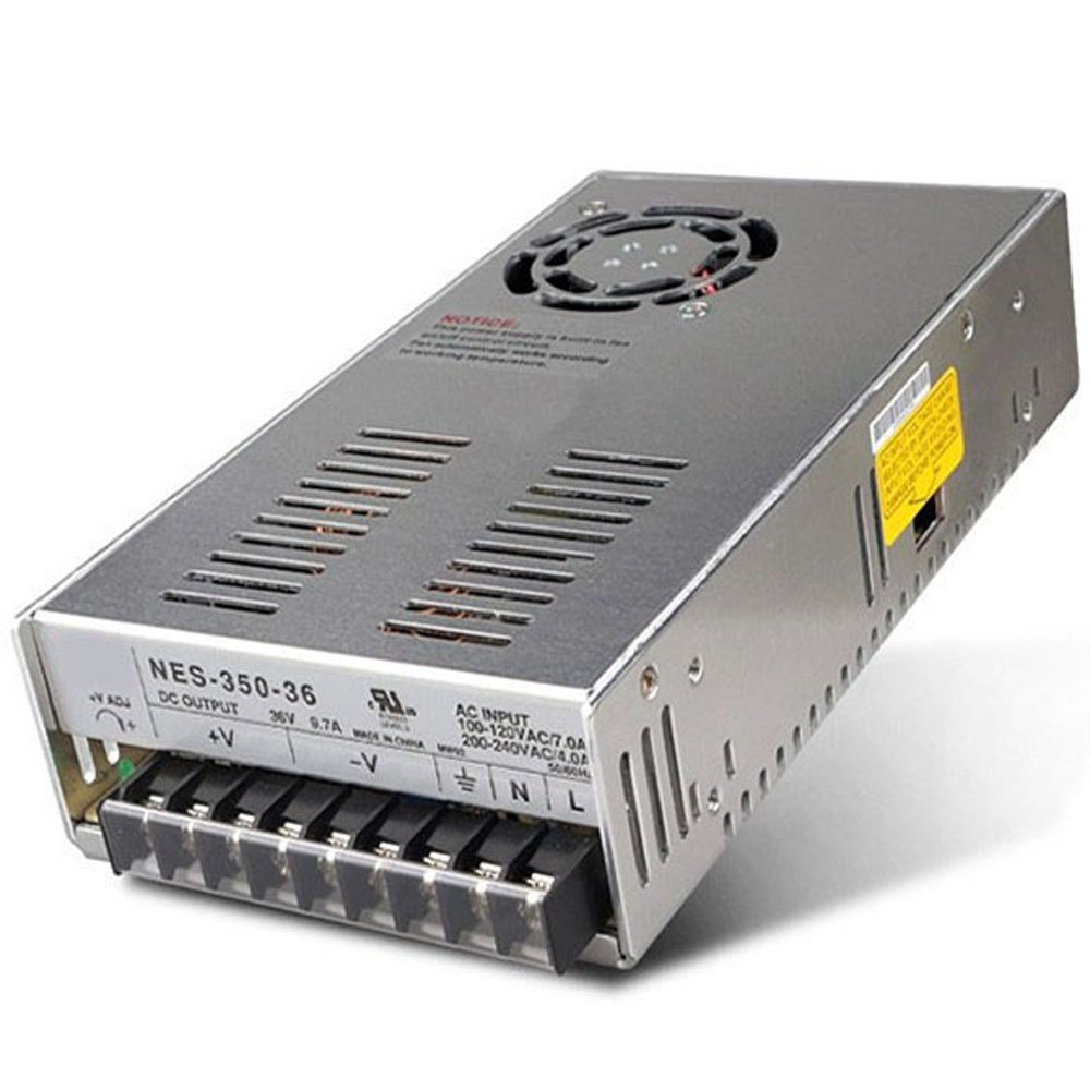 New Switch Power Supply 36V 9.7A 350W 215x115x50mm for Mean Well MW MeanWell NES-350-36