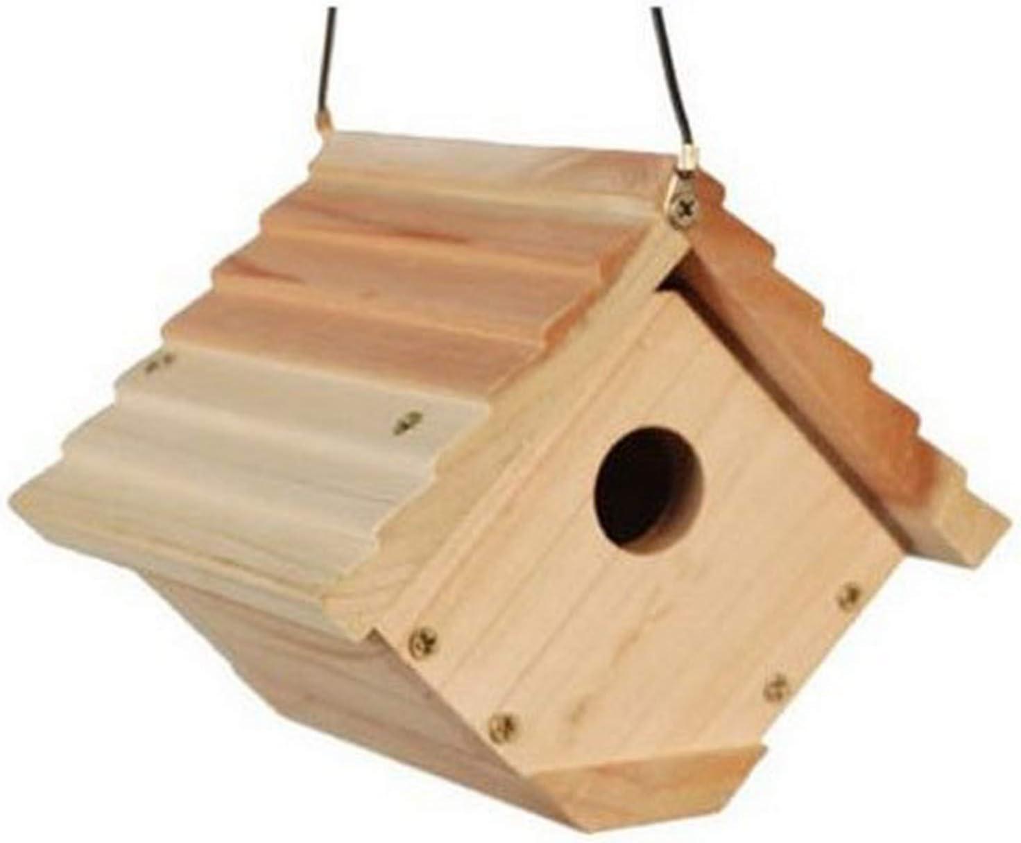 Amazon Com Woodlink Audubon Traditional Wren House Model Nawren Birdhouse Garden Outdoor