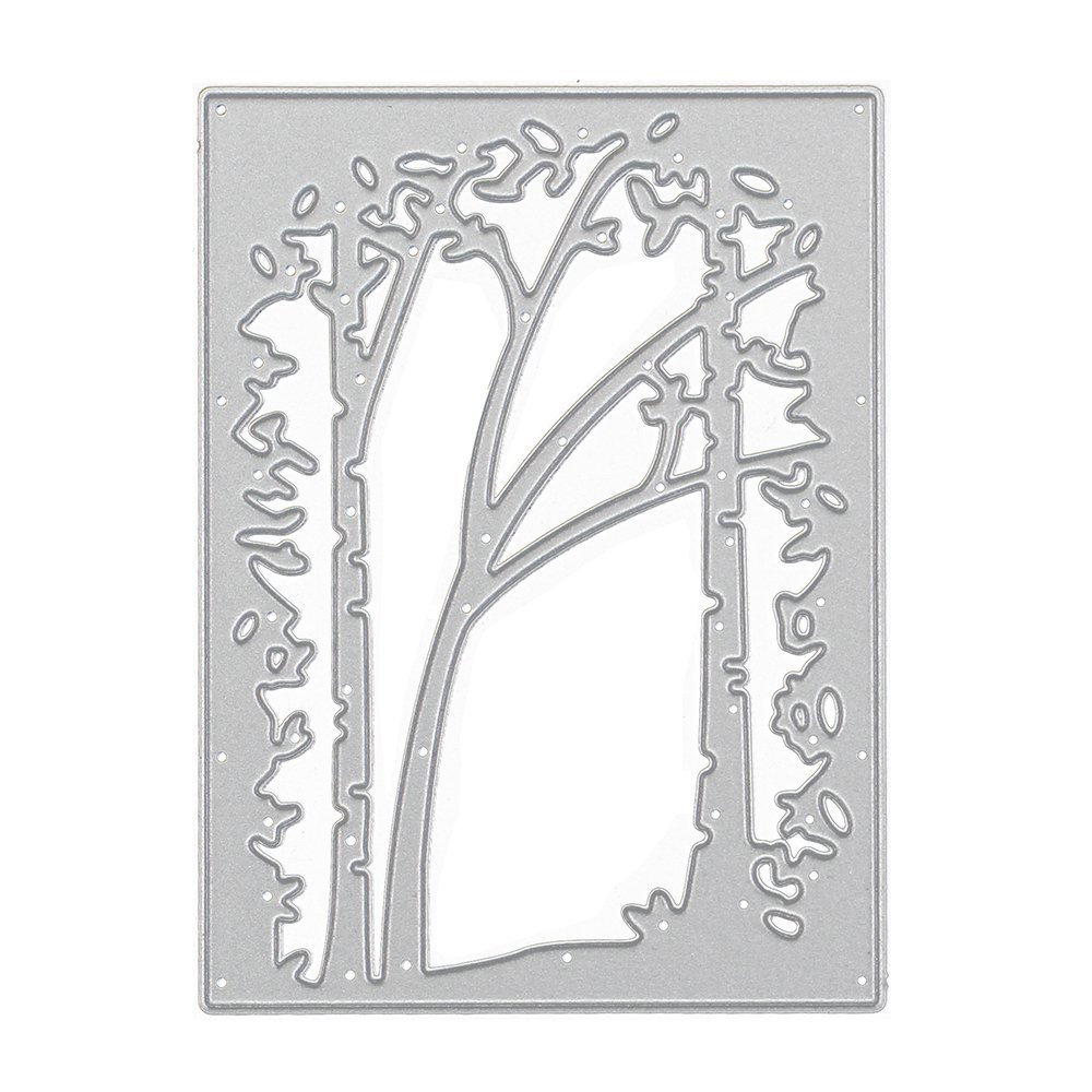 Lady Time Clearance!!Tree Metal Cutting Dies Stencil Scrapbooking Photo Paper Cards Crafts Embossing DIY by Lady Time (Image #7)
