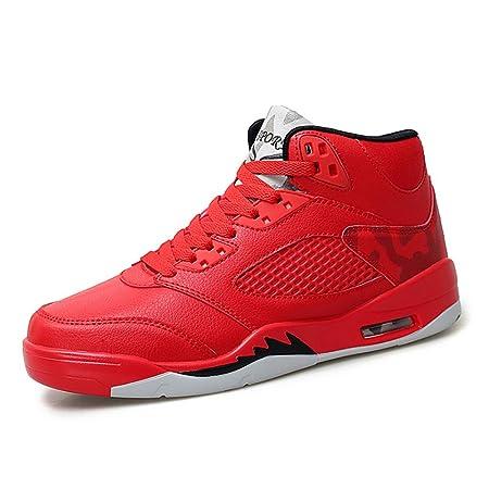 YSZDM Zapatos de Baloncesto, Zapatillas Altas ...