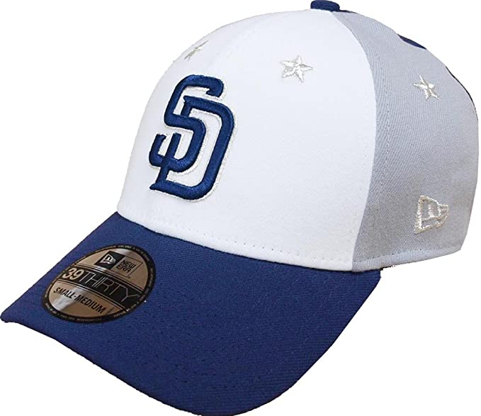 the best attitude 3c947 e0b6b ... switzerland a new era era san diego padres all star game patch cap  39thirty curved visor
